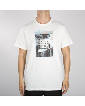 STACKED PHOTO TEE SS