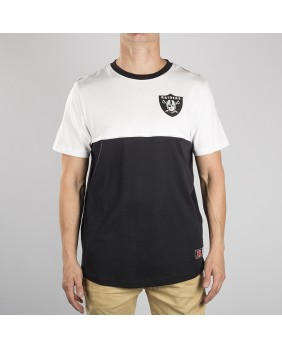 NFL RAIDERS HAWSER PANEL RAGLAN