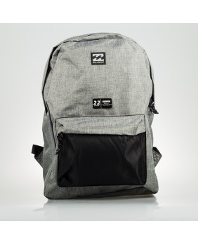 ALL DAY PACK GRIS Y NEGRO