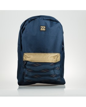 ALL DAY PACK AZUL Y MARRON