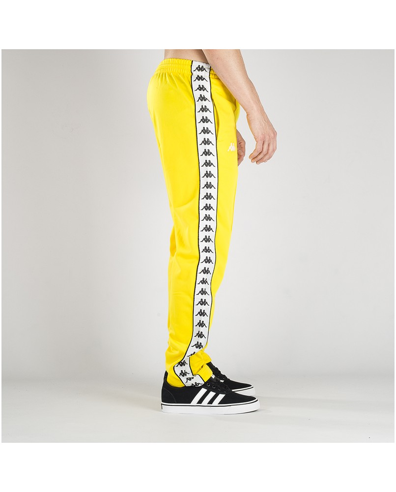 Pantalones Largos Kappa Astoria Pants Slim Fit Amarillo