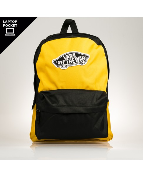 mochilas Vans Realm backpack amarillo