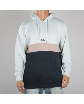 WAVE WASHED HALF ZIP