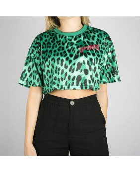 YANGA MESH GIRL CROP TOP