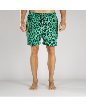 YANGA LEOPARD SWIMMING SHORTS