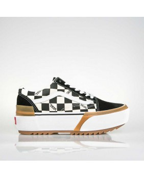 OLD SKOOL STACKED (CHECKERBOARD)
