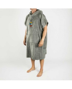 ICONS HOODED TOWEL