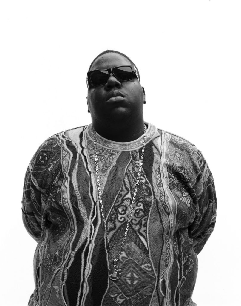 ca. 1996 --- Notorious B.I.G --- Image by © Dana Lixenberg/Corbis Outline