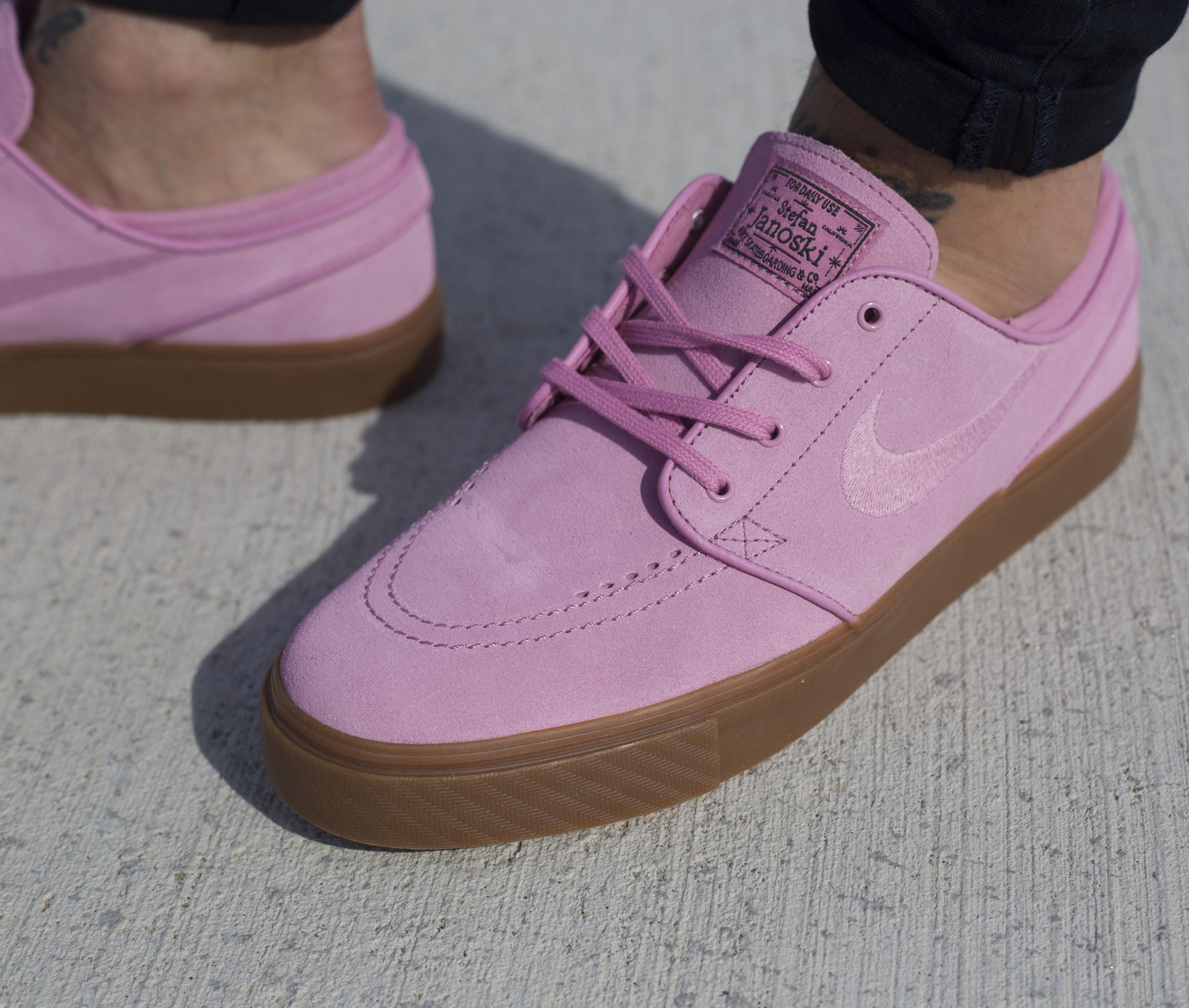 zapatillas nike janoski rosas