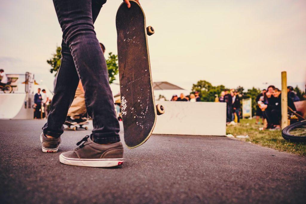 talla de zapatillas skate