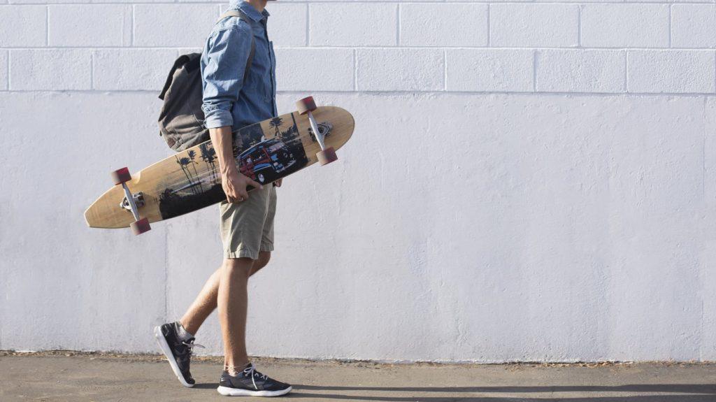 tablas de skate longboard tipos