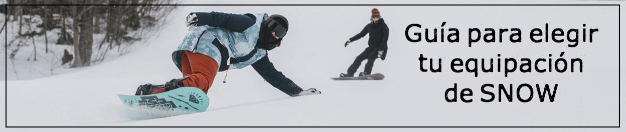 Guía para elegir tu equipación de snow