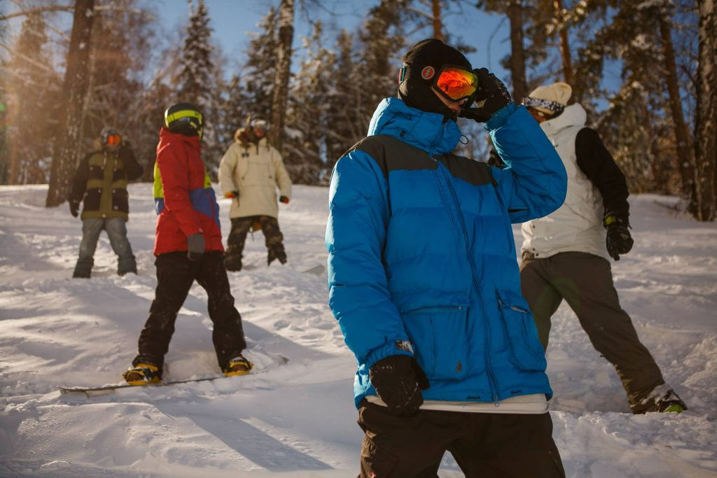 como elegir gafas de snowboard