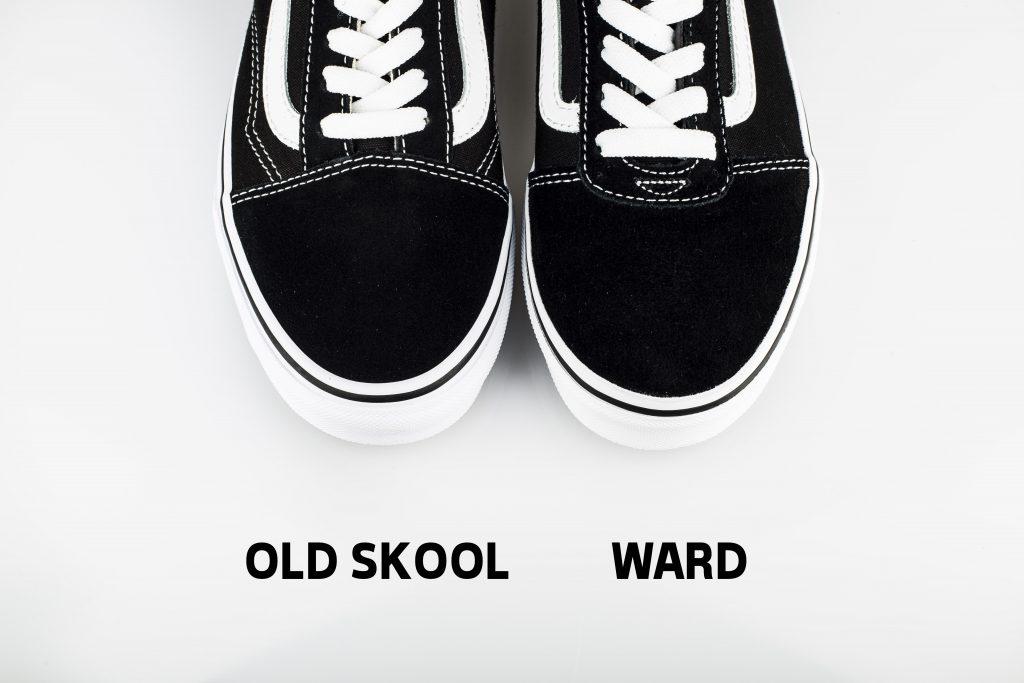 vans ward vs old school