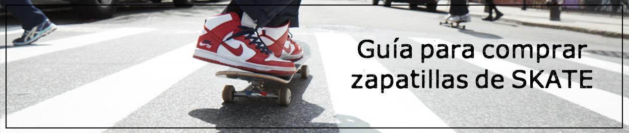 Guía para elegir tus zapatillas skate