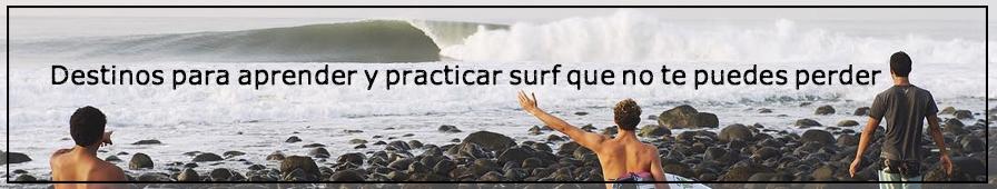 Mejores destinos españoles para aprender y practicar surf en españa
