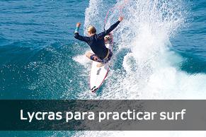 Encuentra las mejores lycras para practicar surf