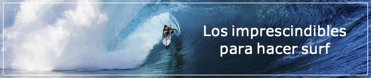 Guía materiales imprescindibles para practicar surf