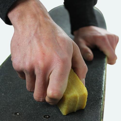 como limpiar lija skate