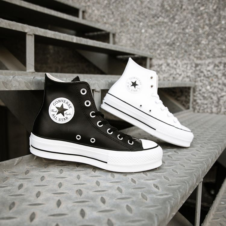 ¡Saca a lucir tus Converse de plataforma con estilo!