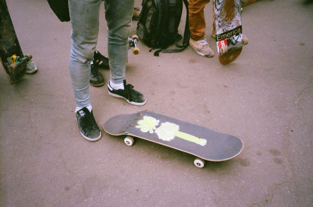 arreglar skate mantenimiento