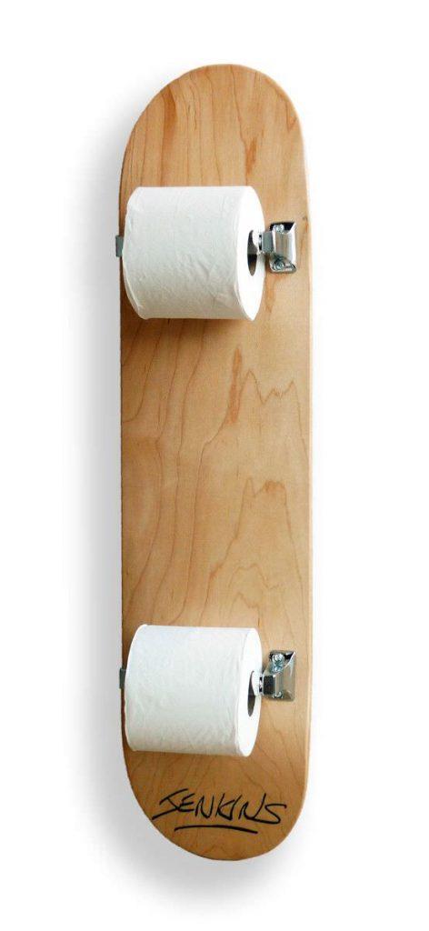 papel higienico skateboard